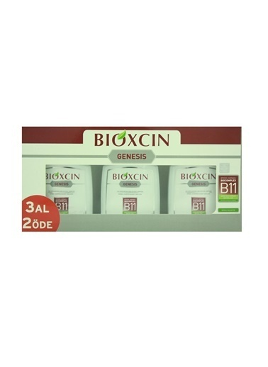 Bioxcin Genesis Sampuan Kepekli Saçlar için 3 Al 2 Öde Renksiz